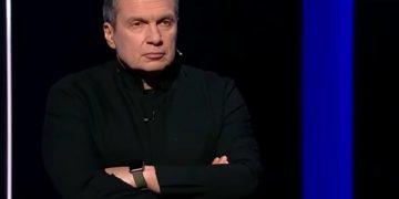 Вечер с Владимиром Соловьевым, передача от 19.02.2019.
