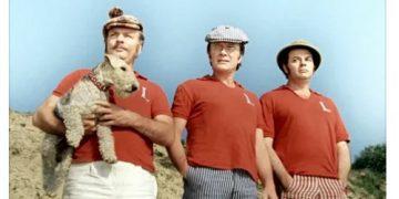 ТРОЕ В ЛОДКЕ, НЕ СЧИТАЯ СОБАКИ 1979 фильм драма СССР смотреть онлайн